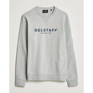 Belstaff 1924 Crew Neck Logo Sweat Grey Melange