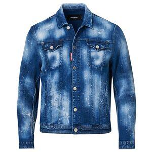 Dsquared2 Dan Denim Jacket Blue