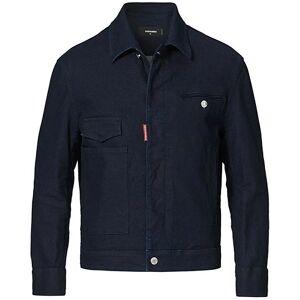 Dsquared2 Aviator Jacket Blue