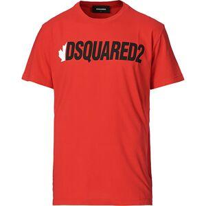 Dsquared2 Logo Crew Neck Tee Red