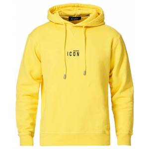 Dsquared2 Small Icon Logo Hoodie Yellow