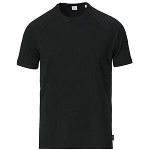 Aspesi Raglan Short Sleeve Tee Black