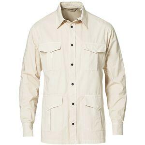 Aspesi Hercules Cotton Safari Shirt Sand
