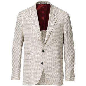 Brunello Cucinelli Linen/Silk Patch Pocket Blazer Beige