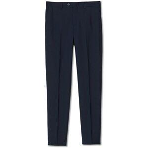Brunello Cucinelli Slim Fit Super 120s Wool Trousers Navy