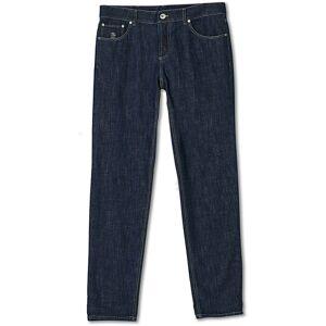 Brunello Cucinelli Slim Fit Jeans Dark Indigo
