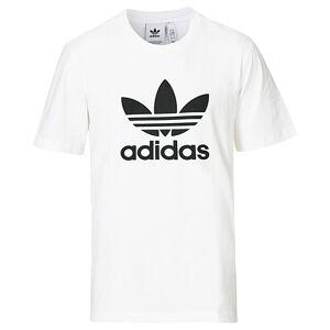 adidas Originals Trefoil Crew Neck Tee White