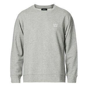A.P.C. Mike Vintage Sweatshirt Heather Grey