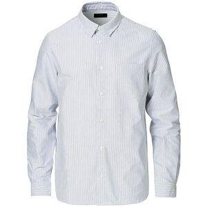 A.P.C. Striped Oxford Shirt Light Blue