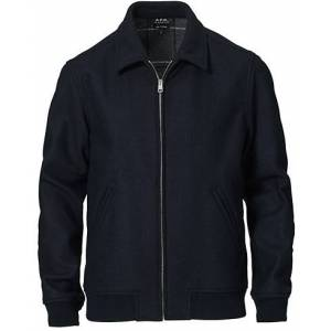 A.P.C. Wool Bomber jacket Navy