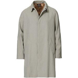 A.P.C. New England Mac Coat Beige