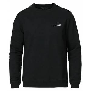 A.P.C. Item Sweatshirt Black