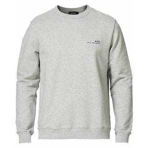 A.P.C. Item Sweatshirt Heather Grey
