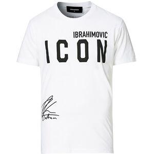 Dsquared2 Dsquared2 X Ibrahimovic Icon Sign Crew Neck Tee White