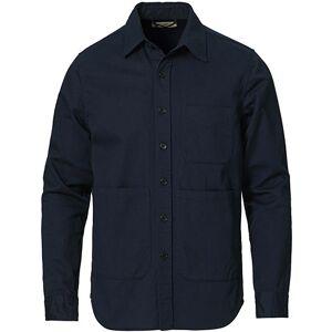 Aspesi Heritage Twill Utility Shirt Navy