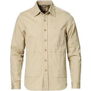 Aspesi Heritage Twill Utility Shirt Stone