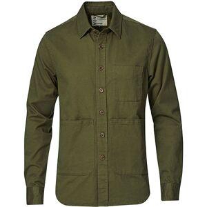 Aspesi Heritage Twill Utility Shirt Military