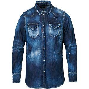 Dsquared2 Western Denim Shirt Indigo