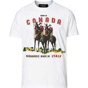 Dsquared2 Canada Tee White