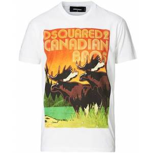 Dsquared2 Canadian Bros Tee White