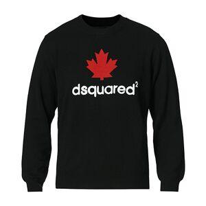 Dsquared2 Mini D2 Leaf Knitted Sweater Black