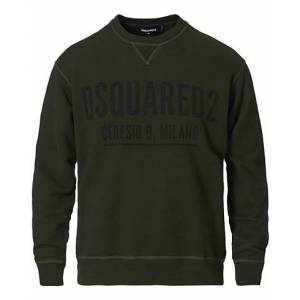 Dsquared2 Cool Fit Ceresio 9 Sweatshirt Green