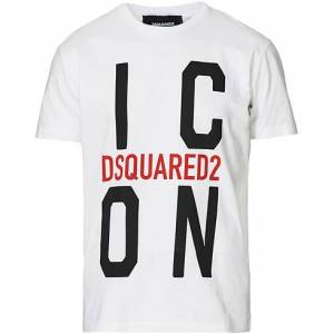 Dsquared2 Cool Fit Icon Vert Tee White
