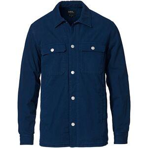 A.P.C. Chino Cotton Overshirt Navy
