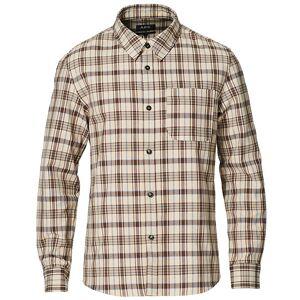 A.P.C. Trek Casual Shirt Brown Plaid