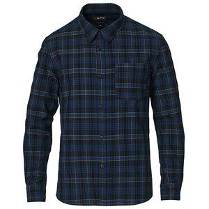 A.P.C. Trek Casual Shirt Dark Blue Plaid