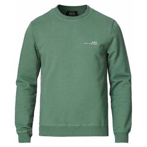 A.P.C. Item Crew Neck Sweatshirt Green