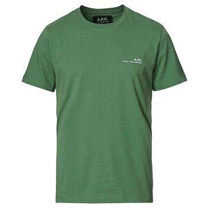A.P.C. Item Short Sleeve T-Shirt Green