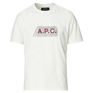 A.P.C. Garry Short Sleeve T-Shirt White