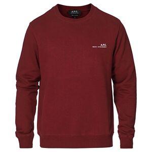 A.P.C. Item Sweatshirt Burgundy