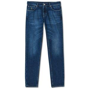 Brunello Cucinelli Slim Fit Jeans Dark Blue