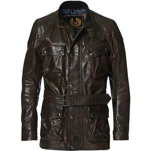 Belstaff Trailmaster Panther 2.0 Leather Jacket Black/Brown