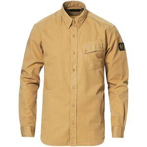 Belstaff Pitch Cotton Twill Shirt Vintage Khaki