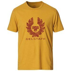 Belstaff Coteland Logo Crew Neck Tee Harvest Gold
