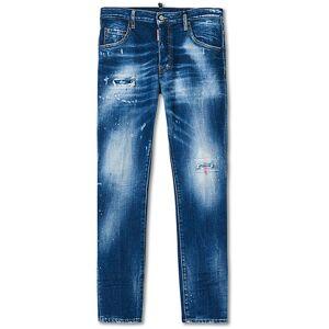 Dsquared2 Skater Jeans Medium Blue Wash