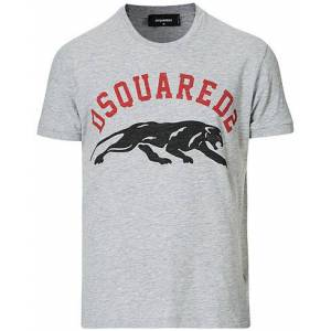 Dsquared2 Tiger Tee Grey Heather