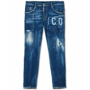 Dsquared2 Icon Skater Jeans Blue Wash