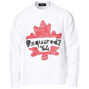 Dsquared2 Cool Fit D264 Sweatshirt White