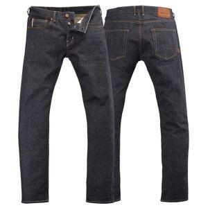 Rokker Sturgis Raw Jeans Byxor Blå 33