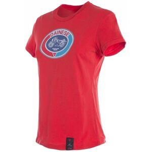 Dainese Moto72 Ladies T-Shirt Röd 2XL