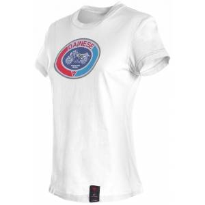 Dainese Moto72 Ladies T-Shirt Vit L