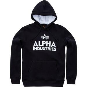 Alpha Industries Foam Print Hoodie Svart Vit 2XL