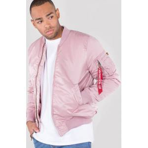 Alpha Industries MA-1 VF 59 Long Jacka Rosa S