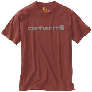 Carhartt EMEA Core Logo Workwear Short Sleeve T-Shirt T-shirt XS Brun