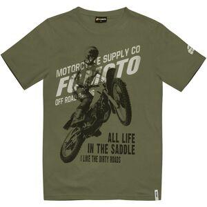 FC-Moto Team-FCM T-shirt L Grön