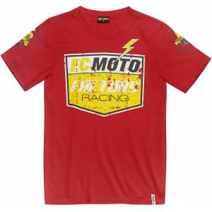 FC-Moto Crew T-shirt L Röd